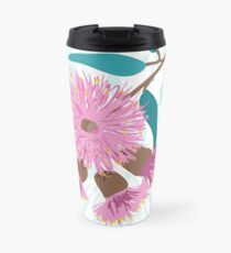 Australian Gum Blossom - Australiana decor - Native Aussie Flower - Contemporary Art Travel Mug