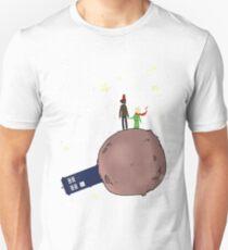 Doctor who meet a little prince T-Shirt