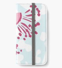 Australian Abstract Flowering Gum - Australiana decor - Aussie Flora - Australian Native iPhone Wallet/Case/Skin