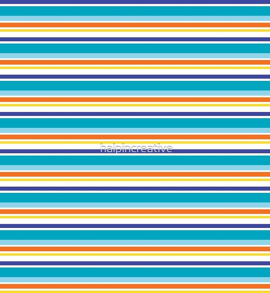 Modern Exagoni Stripe by halpincreative