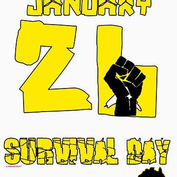 January 26 Survival Day by KISSmyBLAKarts