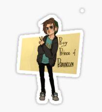 Boy Prince of Brooklyn Sticker
