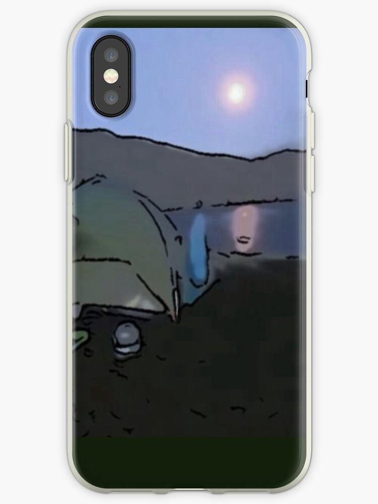 Wild Moonlit Camp by DeneWest