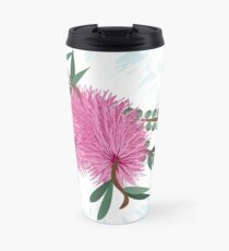 Bottlebrush -  Australian Native Flower - Australiana decor - Aussie Flora Travel Mug