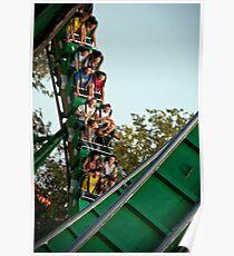 Roller-coaster Poster