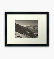 Around Every Corner, a Wondrous View Awaits Framed Print