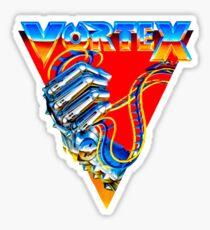 Classic Vintage Kings Island Vortex Logo Sticker
