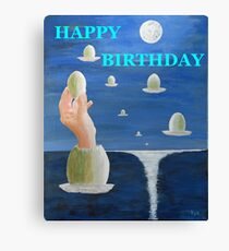 The Paradox, HAPPY BIRTHDAY Canvas Print