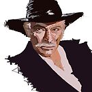 Lee Van Cleef - without background by Alberto Marinelli