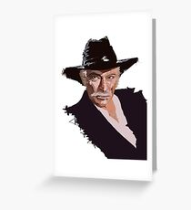 Lee Van Cleef - without background Greeting Card