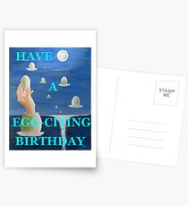HAVE A EGG-CITING BIRTHDAY  Postcards