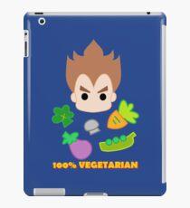 Vegeta - 100percent vegetarian iPad Case/Skin