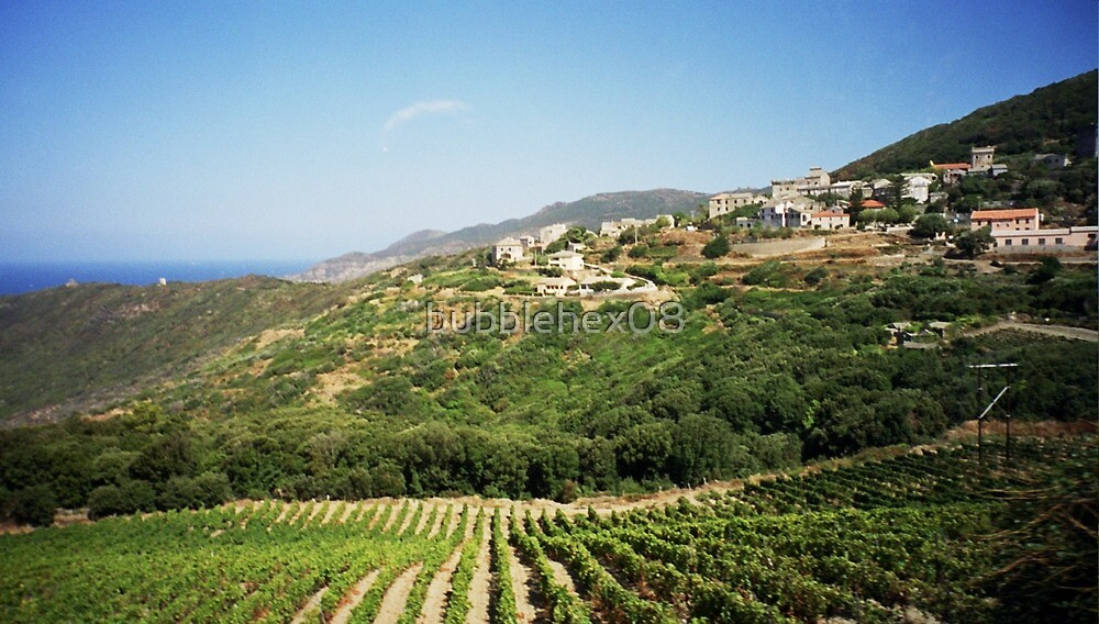 Typical Corsican landscape by bubblehex08
