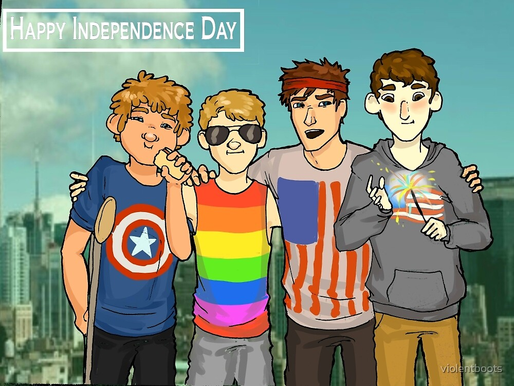 Happy Independence Day by violentboots