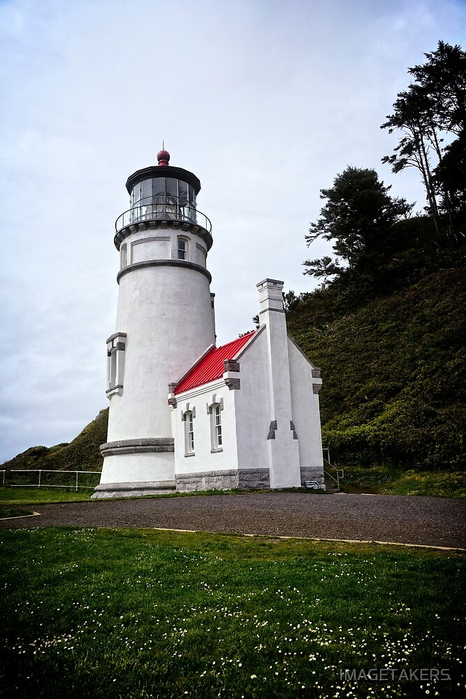 Heceta Head Lighthouse - The Compass by IMAGETAKERS