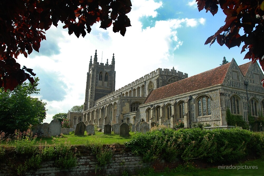 The beauty of Long Melford church by miradorpictures
