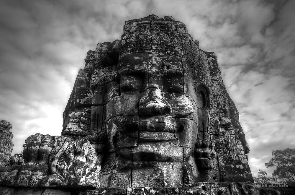 Bayon, Siem Reap, Cambodia by thesiracusas