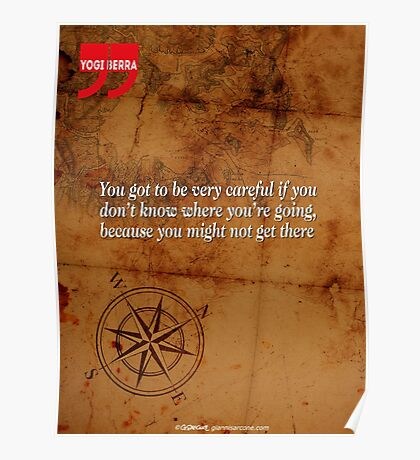 Going Nowhere (Quotation) Poster