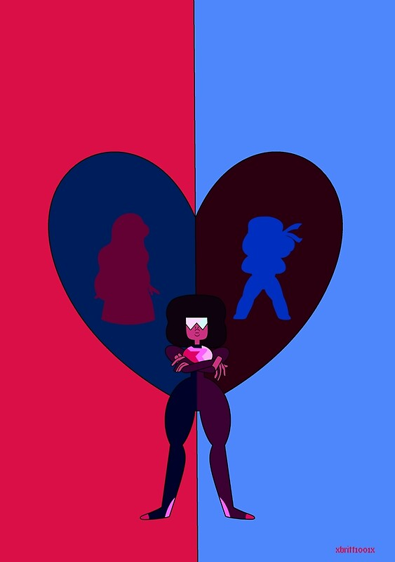 Quot Steven Universe Ruby Sapphire And Garnet Quot By