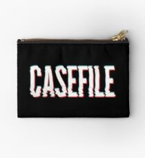 Casefile True Crime – Casefile Blurred Zipper Pouch