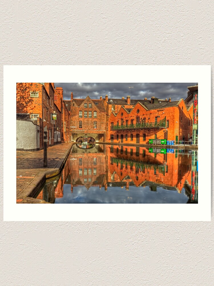 Alternate view of The Canal Art Print