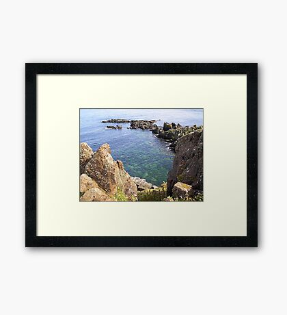 South Ness, May Isle Framed Print