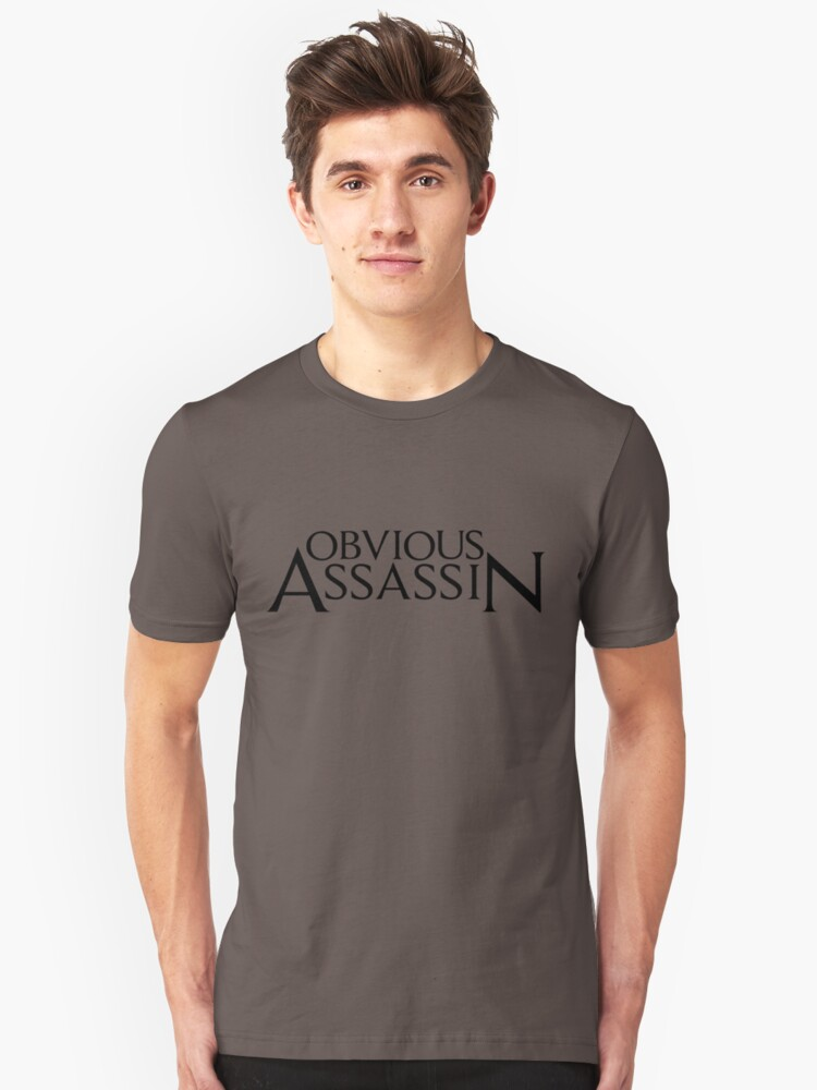 Obvious Assassin Unisex T-Shirt Front