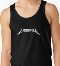 Casefile True Crime – Casefile Metallica Tribute (Light) Tank Top