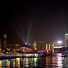 Kowloon Panoramic View - Hong Kong by Richie Wessen
