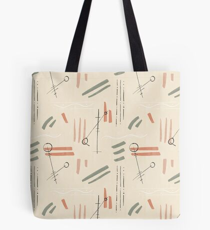 Tribal Signs #redbubble #pattern Tote Bag