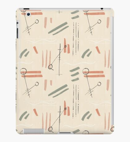 Tribal Signs #redbubble #pattern iPad Case/Skin