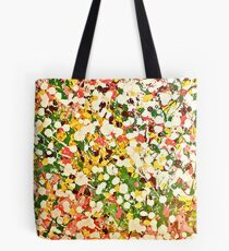 Poured Abstract Tote Bag