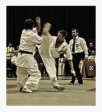 kick Photographic Print