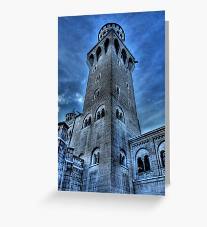 Knight's Tower Greeting Card