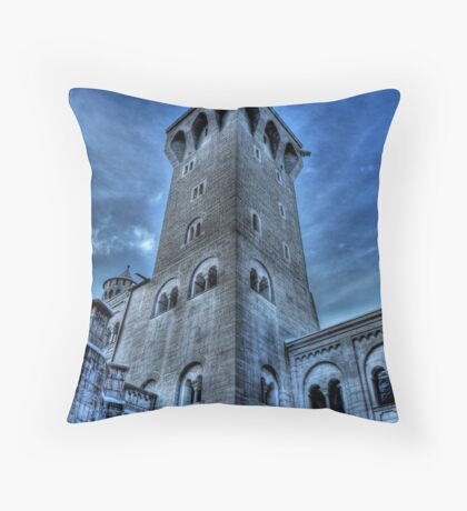 Knight's Tower Throw Pillow