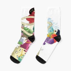 Come along with me - Adventure Time Socks