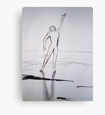 Figure sketch Canvas Print