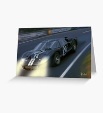Nightshift at Le Mans Greeting Card