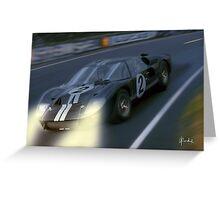 Nightshift at Le Mans Greeting Card