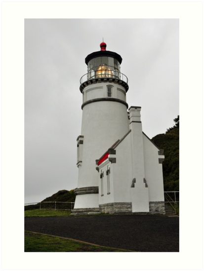 Heceta Head Lighthouse - Keep Us Safe by IMAGETAKERS