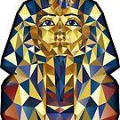 Pharao Tutanchamun Maske - Ägypten von XOOXOO