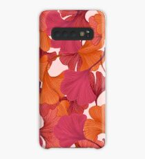 Autumn Ginkgo Leaves Case/Skin for Samsung Galaxy