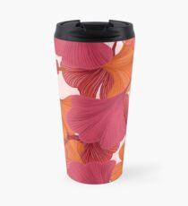 Autumn Ginkgo Leaves Travel Mug