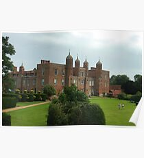The south lawns at Long Melford hall Poster