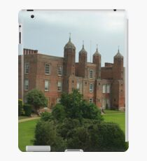 The south lawns at Long Melford hall iPad Case/Skin
