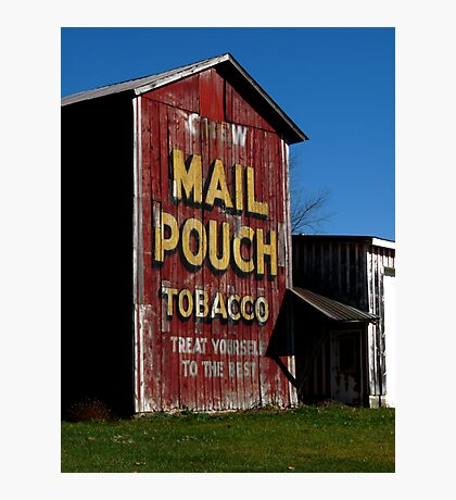 Mail Pouch Barn  Photographic Print