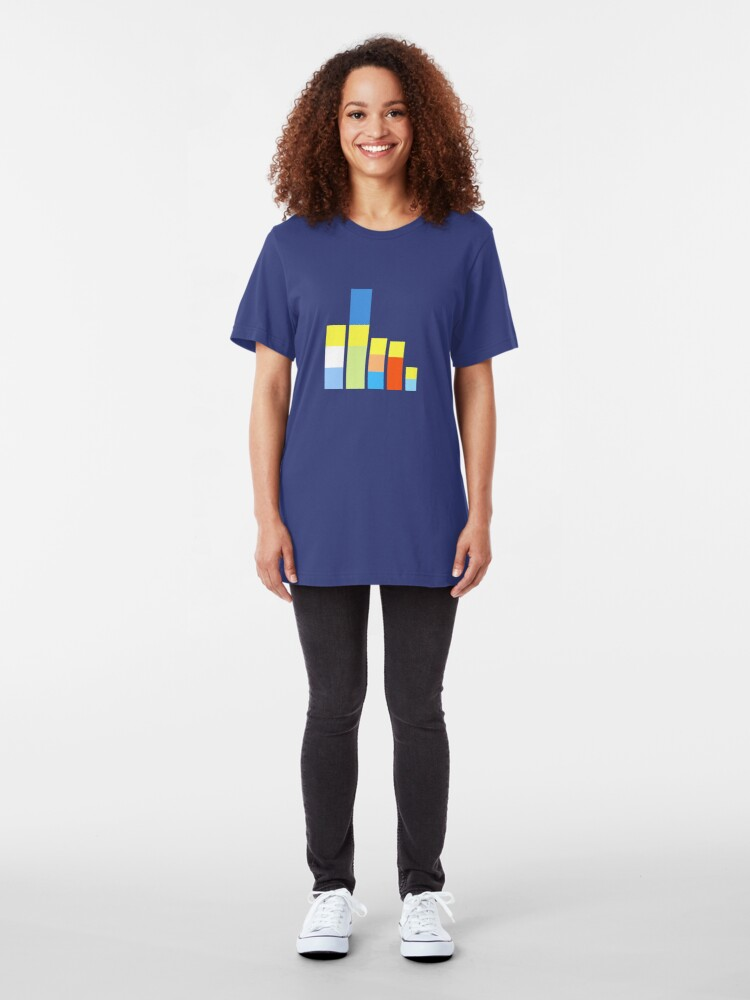 Alternate view of Folk on the Block Slim Fit T-Shirt