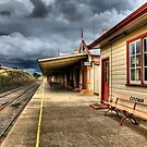 Heritage Listed Cooma Railway Station Platform Side by DavidIori