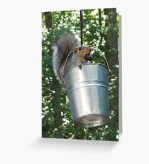Stealing is easy, not getting caught is hard! Greeting Card