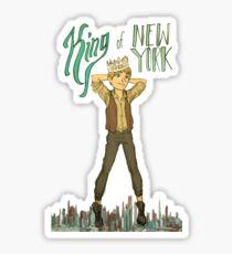 King of NY Sticker